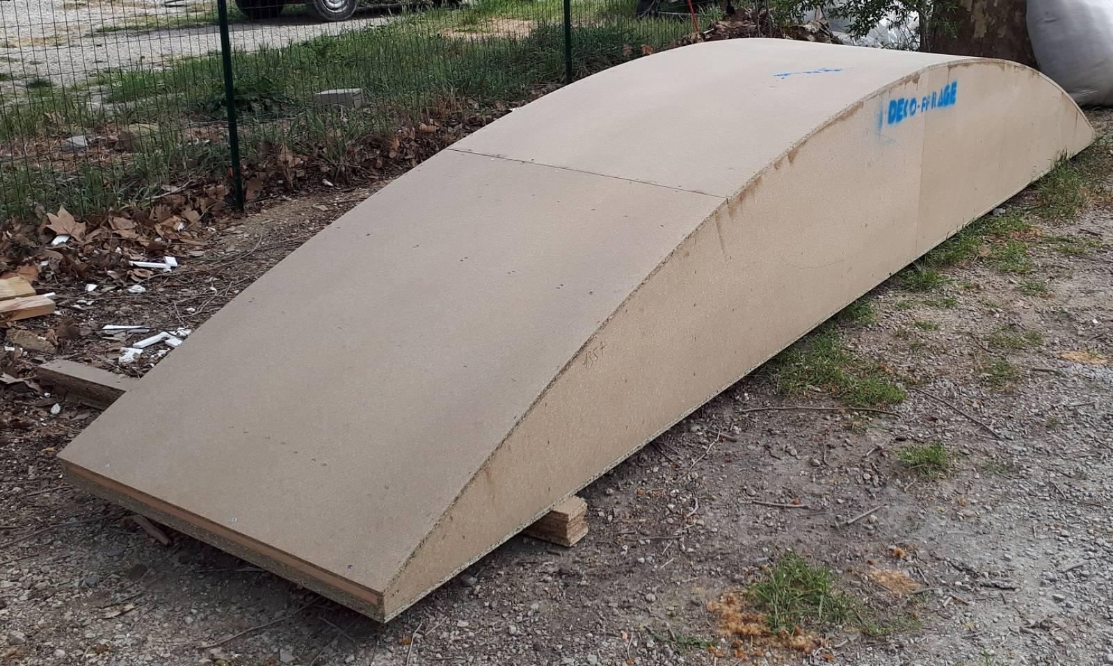 Coffrage Bois Volet Roulant réalisation d'un coffrage de plein cintre bois pour un
