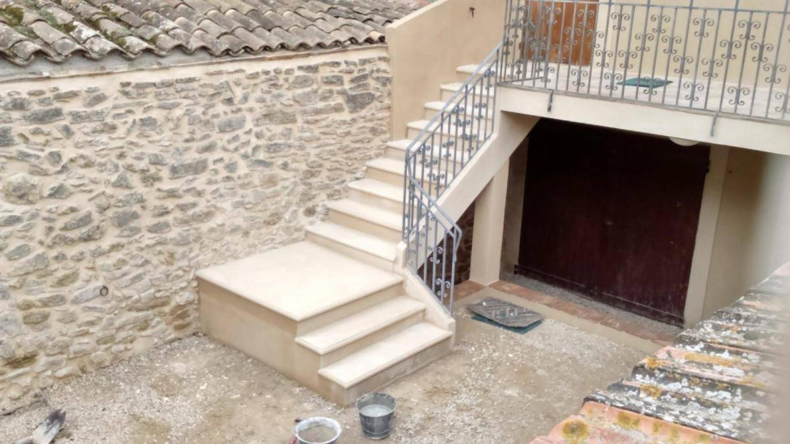 Comment Couler Un Escalier Extérieur En Béton Avec Un