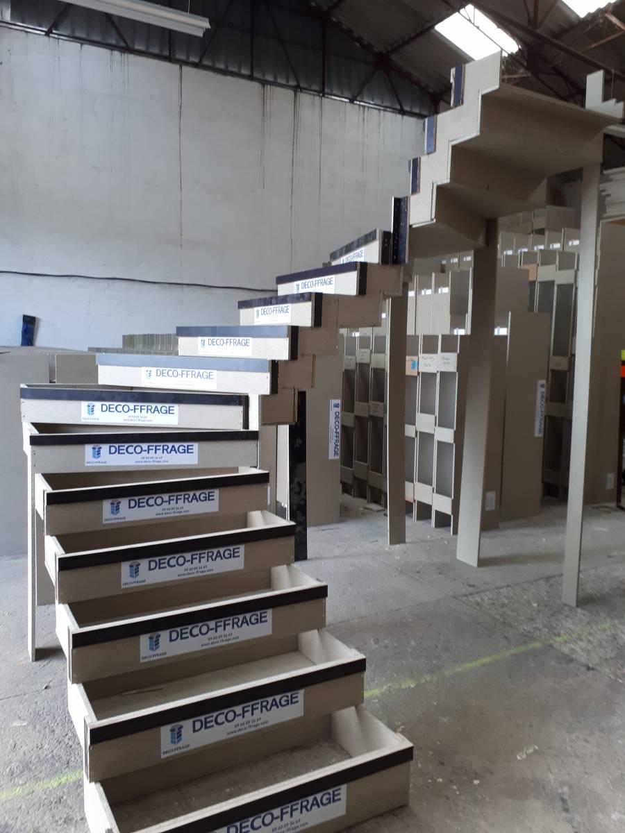 Escalier Interieur Beton Design réaliser un escalier béton crémaillère 2/4 tournant avec un