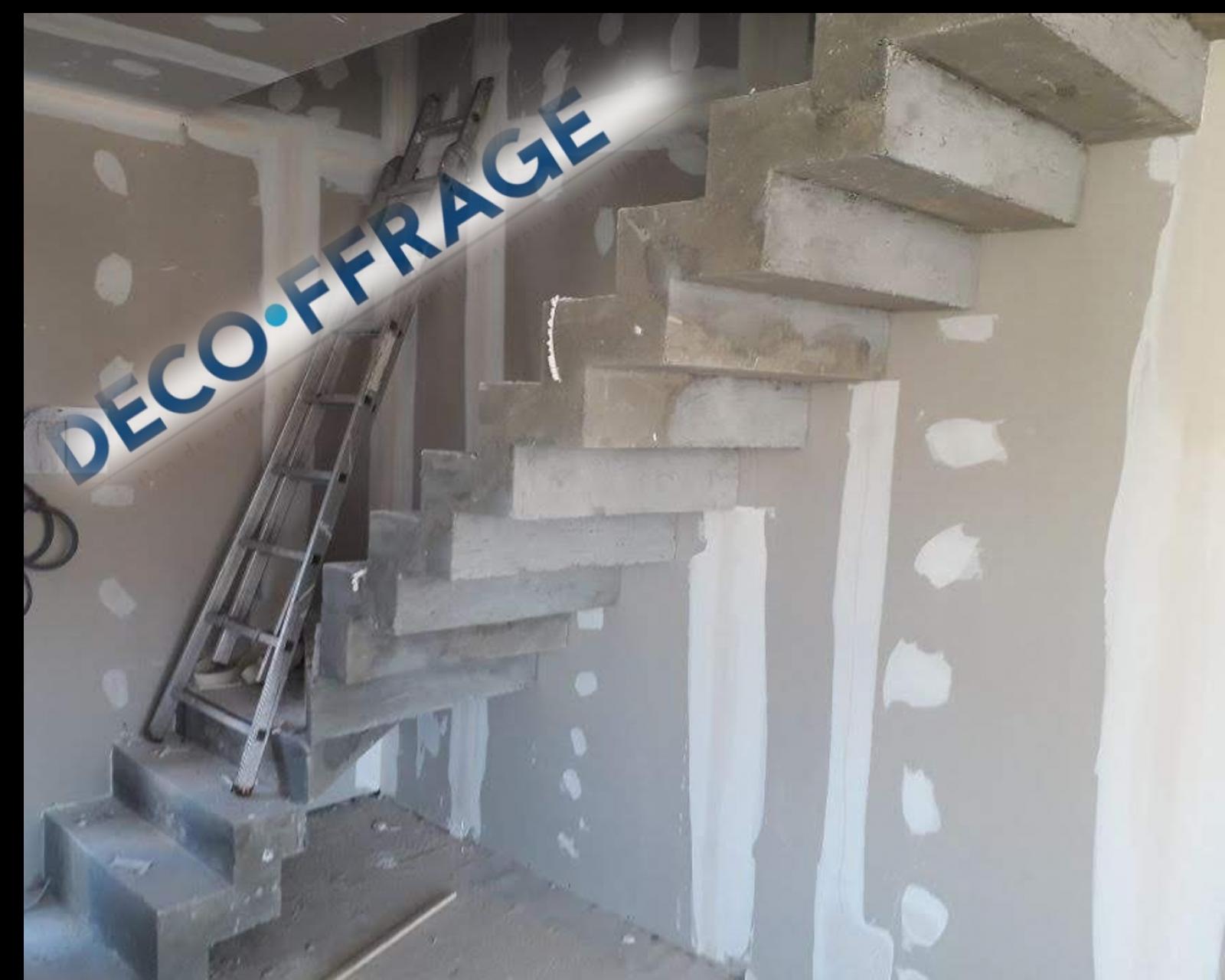 Décoration Marche Escalier Intérieur fabrication d'un coffrage d'escalier béton intérieur pour un