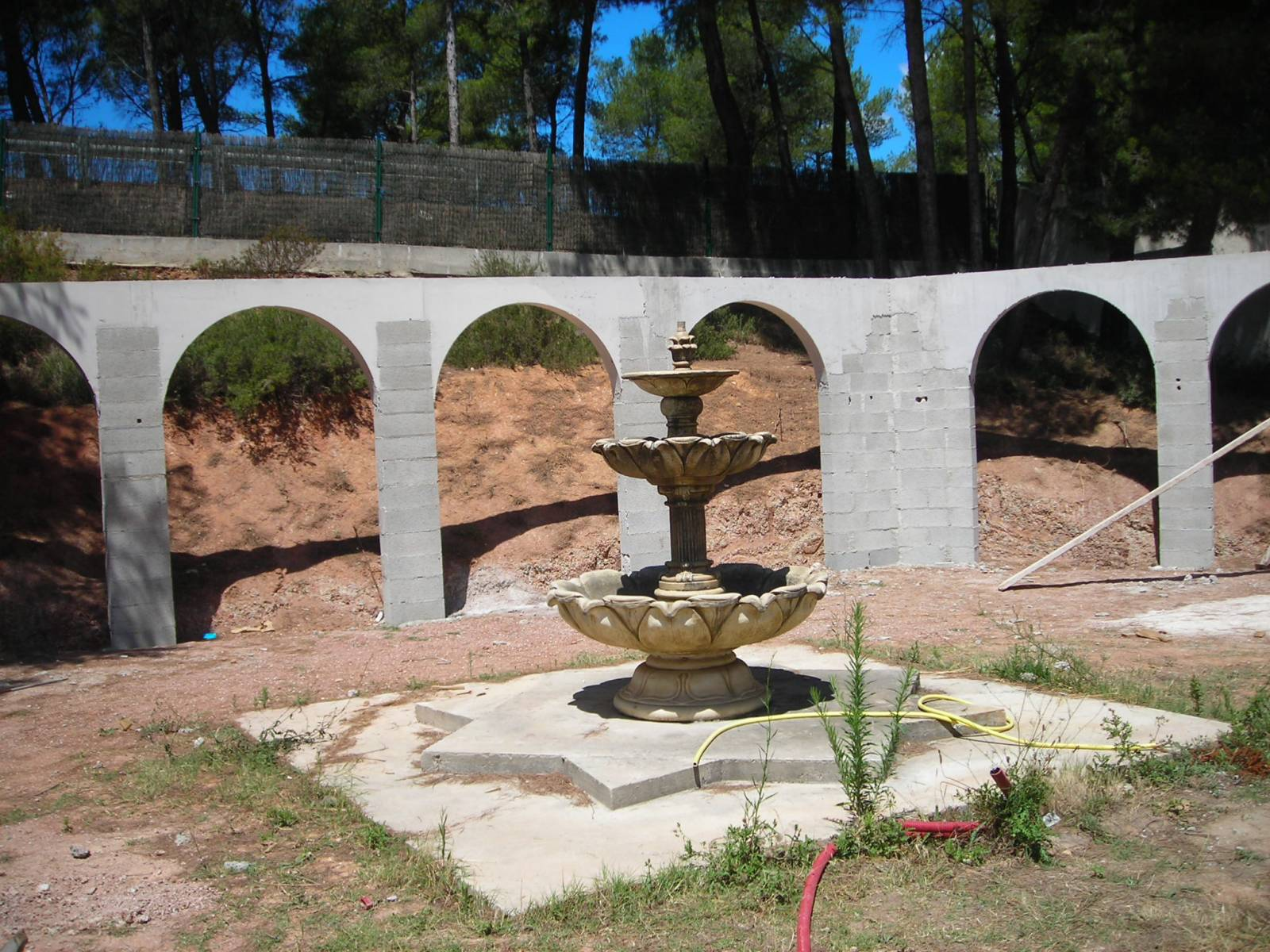 Linteau En Arc De Cercle fabrication de coffrages de pleins cintres en polystyrène